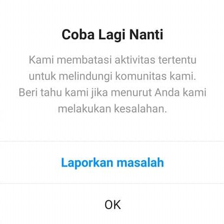 instagram banned