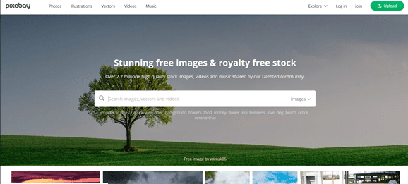 website stiock video gratis media sosial