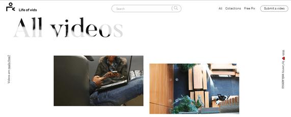 website video gratis
